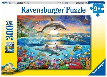 Пазл Ravensburger XXL Dolphin Paradise 128952, 300 шт.