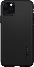 Spigen Thin Fit Classic Back Case For Apple iPhone 11 Pro Max Black
