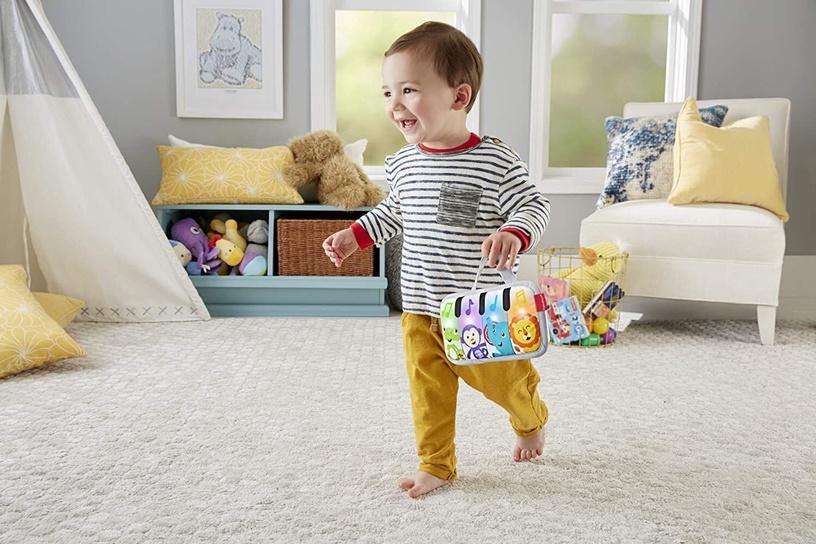 Interaktīva rotaļlieta Fisher Price Mini Musicians Piano Wedge