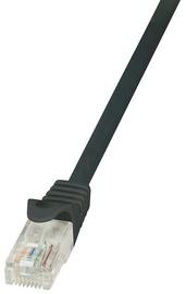 LogiLink CAT 6 U/UTP Cable Black 1m