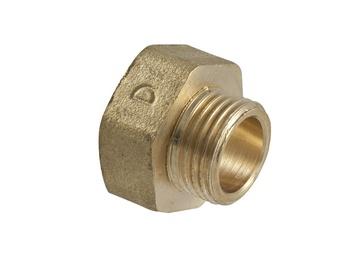 """TDM Brass 600.61/116 Adapter V/I 1""""x1/2"""""""