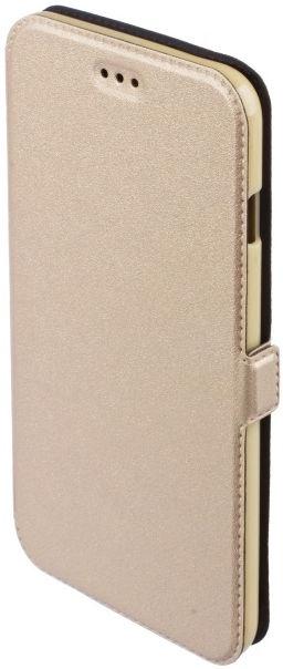 Telone Shine Book Case For Samsung Galaxy J7 J710F Gold