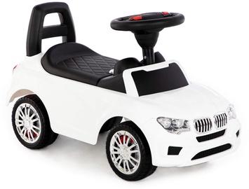 Bērnu rotaļu mašīnīte Polesie Super Car Nr.3, balta