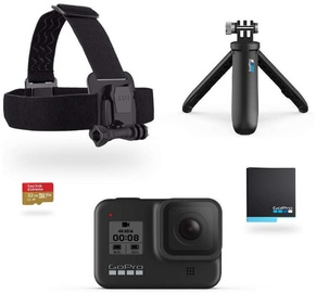 Sporta kamera Gopro Hero 8 Black Holiday Bundle 2019