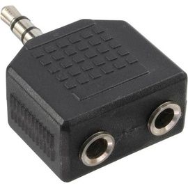 OEM Audio Adapter 3.5mm Stereo Plug To 2x 3.5mm Coupler