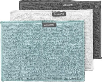 Brabantia Microfibre Cleaning Pads 160x220mm 3pcs