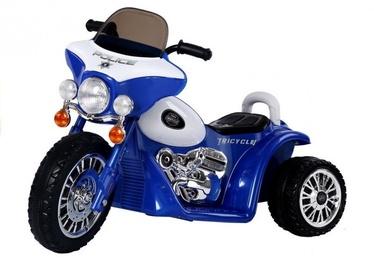 Rotaļlietu bezvadu motocikls Mportas POLICE, zila