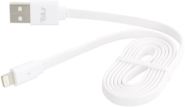 Tellur USB To Apple Lightning Cable 0.95m White