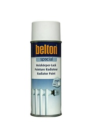Aerosola radiatoru krāsa Belton, 400ml, balta