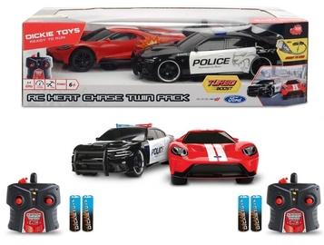 Bērnu rotaļu mašīnīte Dickie Toys RC Heat Chase Twin Pack