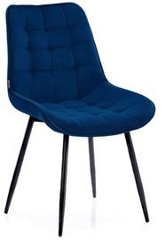 Ēdamistabas krēsls Homede, zila