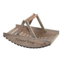 Wooden Flower Trug NG80 Brown