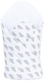 MamoTato Wrap Blanket 78x78cm Clouds White
