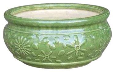 SN Ceramic Pot IP13-652 Ø32cm Green