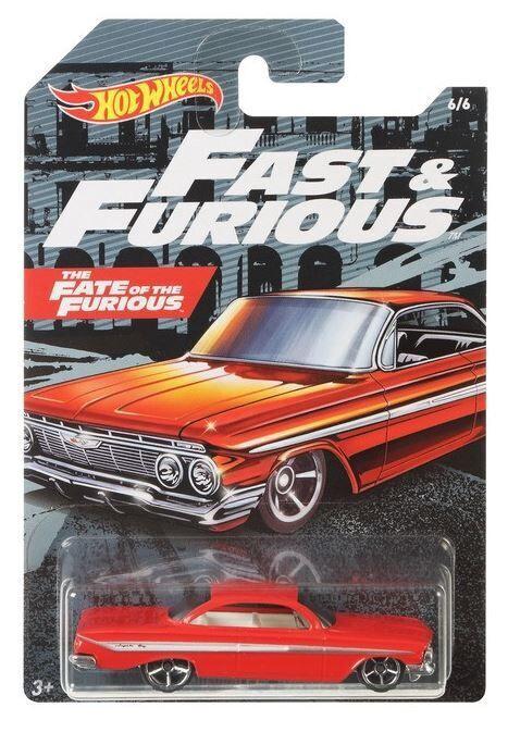 Автомобиль Mattel Hot Wheels Car Assort GDG83