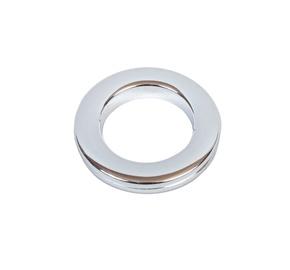 Кольцо Dekorika, хромовый, 28 мм, 10 шт.