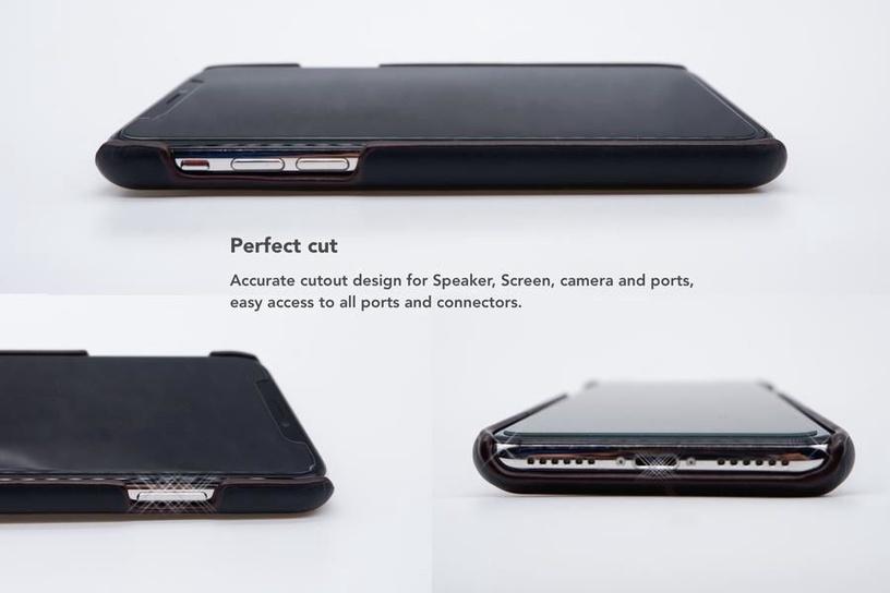 Vix&Fox Card Slot Back Shell For Huawei P20 Black