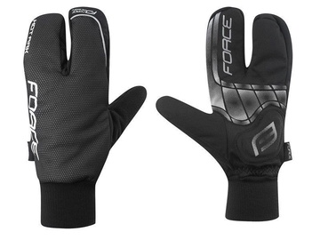Force Hot Rak Winter Gloves Black S