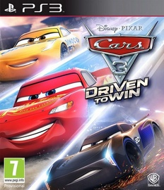 Disney Pixar Cars 3: Driven to Win PS3