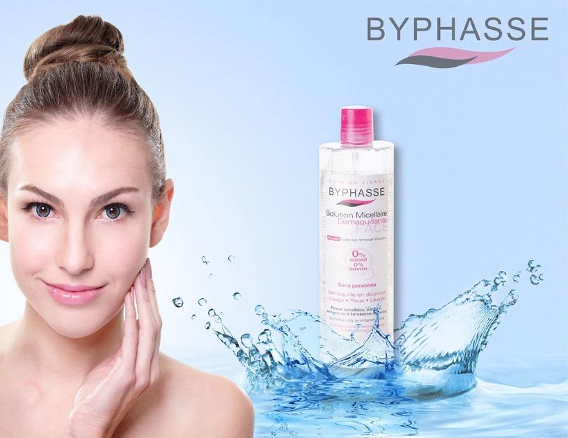Kosmētikas noņemšanas līdzeklis Byphasse Micellar Make-Up Remover Solution, 500 ml