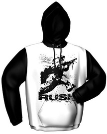 GamersWear Rush Hoodie White/Black S
