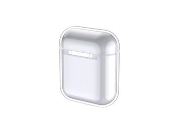 Apvalks Devia AirPods silikoninis crystal