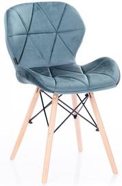 Homede Silla Chairs Velvet 4pcs Steel