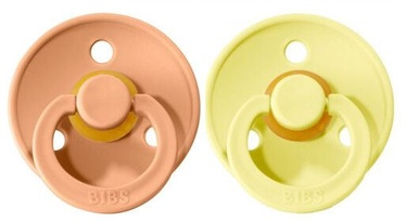 Bibs Colour Round Pacifier 2pcs Sunshine/Sunset 6-18m