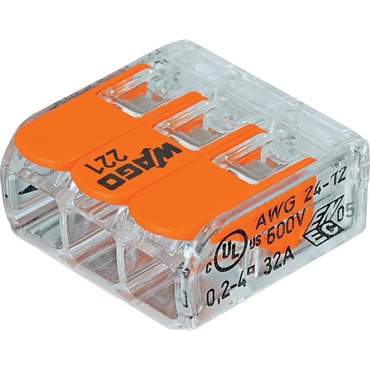 KLEMME SAV. 3X0.2-4MM2 32A/450V 5GAB