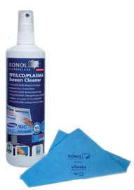 Ronol Duo Clean for TFT/LCD Screens 125ml + Vileda microfiber cloth