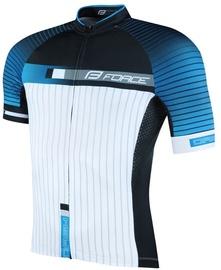 Футболка Force Dash Blue/Black/White S