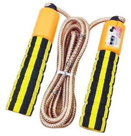 TakeMe Skipping Rope With Jump Counter Yellow