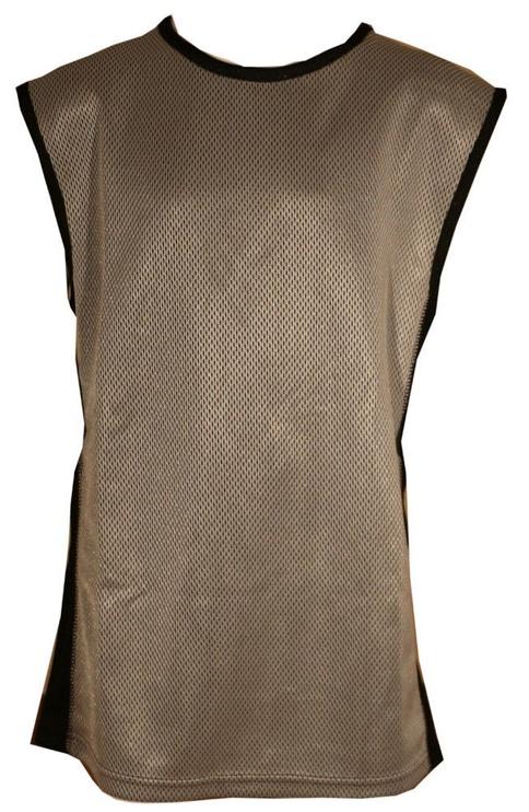 Футболка Bars Mens Basketball Shirt Silver/Black 25 140cm