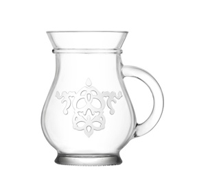 LAV Glass Mug 350ml 2pcs