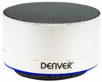 Bezvadu skaļrunis Denver BTS-32 Silver, 3 W