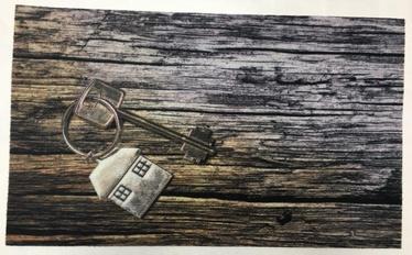 Efco Key Door Mat TPR M1127 45x75cm