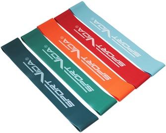 Фитнесс-резинка SportVida TRX & Crossfit Resistance Band Multicolor 5pcs