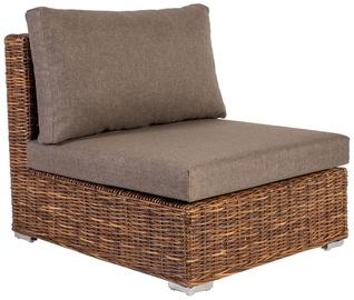 Садовый диван Home4you Croco, коричневый, 77 см x 93 см x 73 см