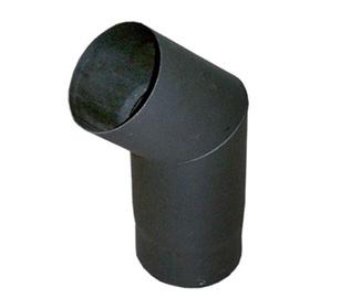 Колена для вытяжек Abx, черный