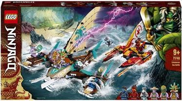 Konstruktors LEGO NINJAGO® Katamarānu cīņa jūrā 71748, 780 gab.