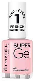 Rimmel London Super Gel French Manicure Nail 12ml 091