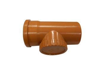 Magnaplast 3-Way Pipe Brown 110mm