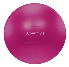 Lifefit Exercise Ball 55cm Red