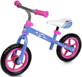 Балансирующий велосипед Spokey Elfic My Little Pony, синий/розовый, 10.8″