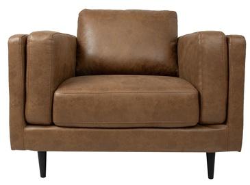 Atzveltnes krēsls Home4you Lisbon 28538, brūna, 110x92x89 cm