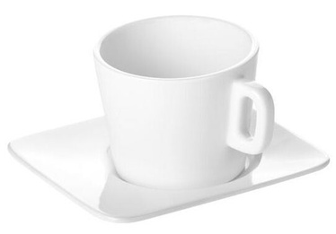 Tescoma Gustito Cappuccino Cup with Plate 200ml White