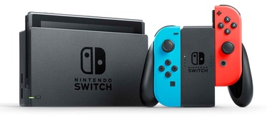 Nintendo Switch Red Blue + Mario Kart 8 Deluxe
