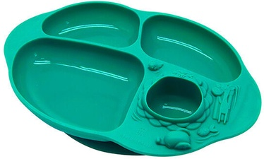 Marcus & Marcus Yummy Dips Suction Divided Plate Ollie