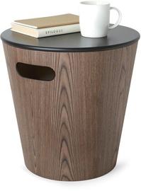 Kafijas galdiņš Umbra, brūna/melna, 400x400x410 mm