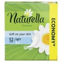 Naturella Light Camomile Liners 52pcs